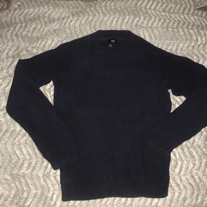 H&M Navy Sweater